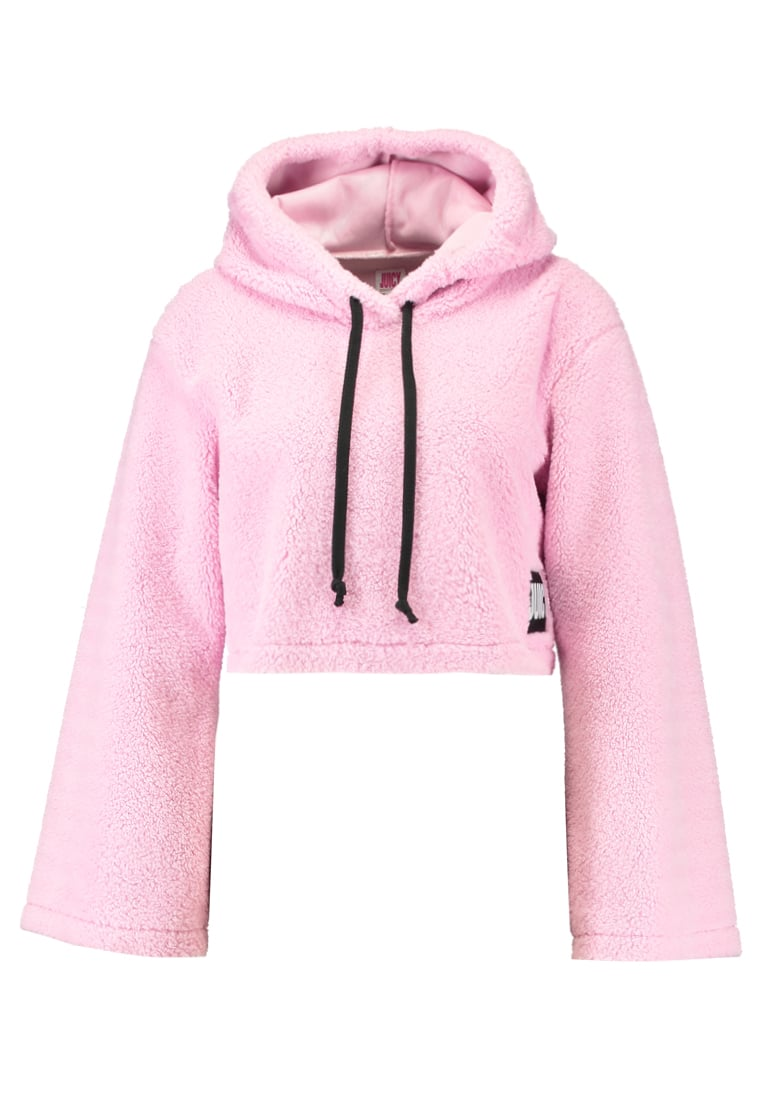 Juicy Couture SHERPA HOODED Bluza peony - JWTKT100615