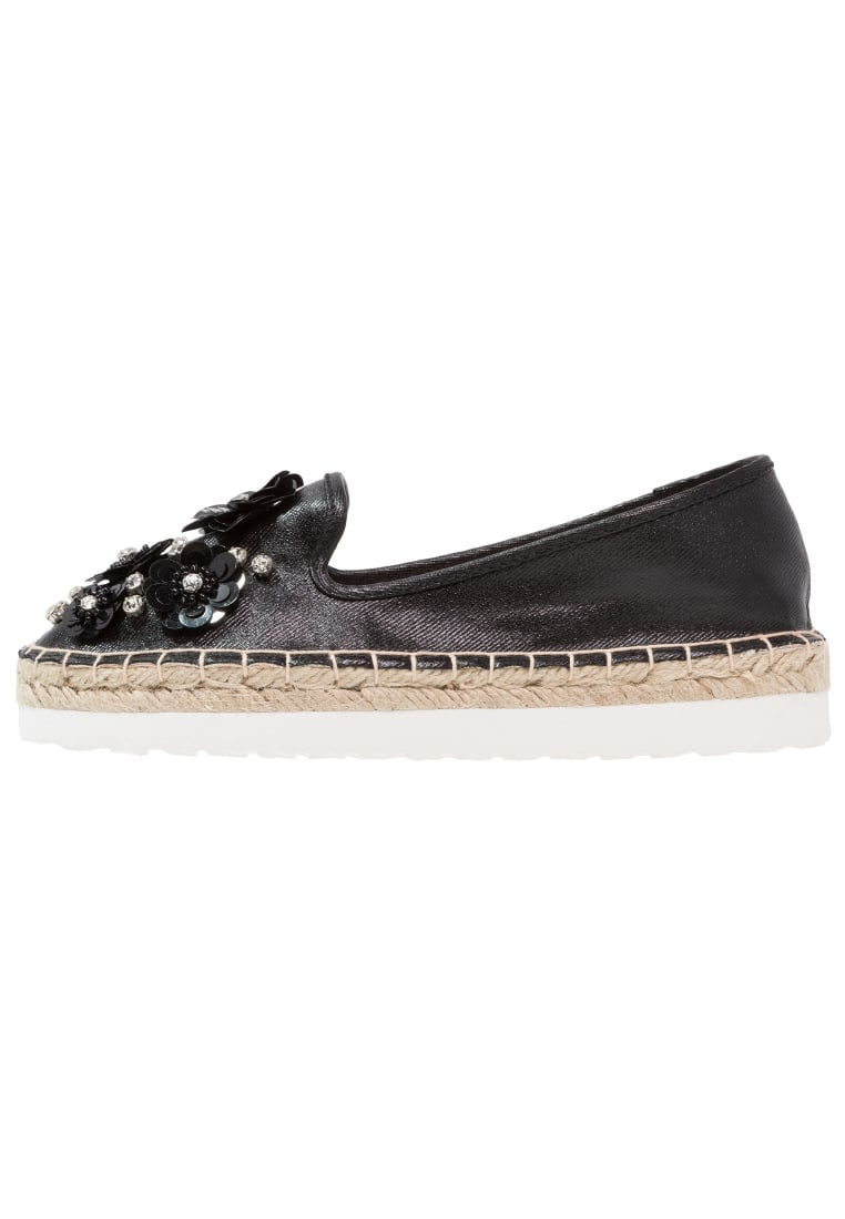 Head over Heels by Dune ENISTA Espadryle black - ENISTA