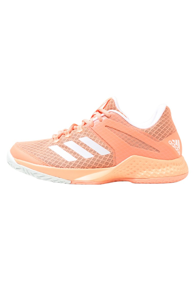 adidas Performance ADIZERO CLUB Buty multicourt coral - CDA33