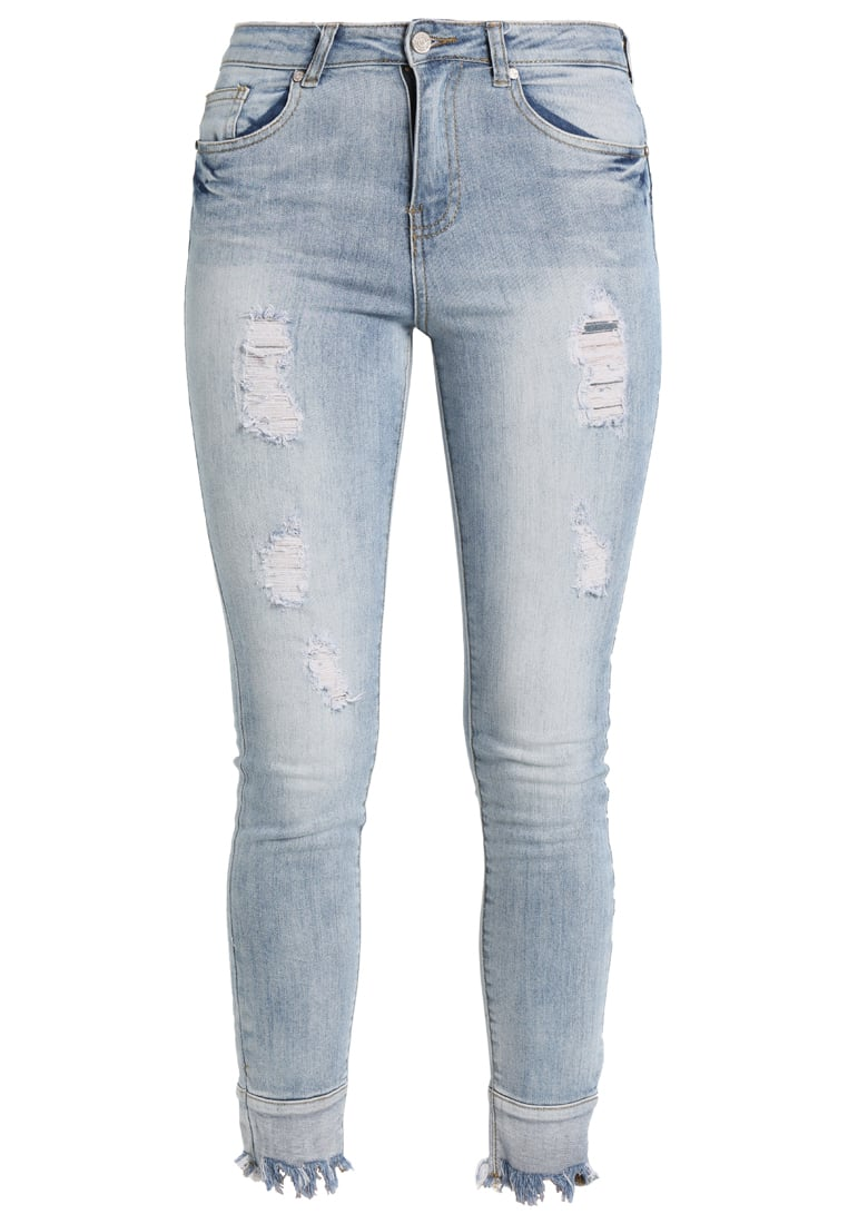 Missguided ANARCHY RISE REVERSED Jeans Skinny Fit stone blue denim - WZG1801650