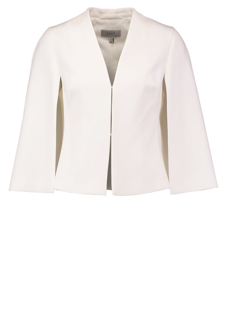 Coast ARABELLA Żakiet ivory - ARABELLA CAPE JACKET