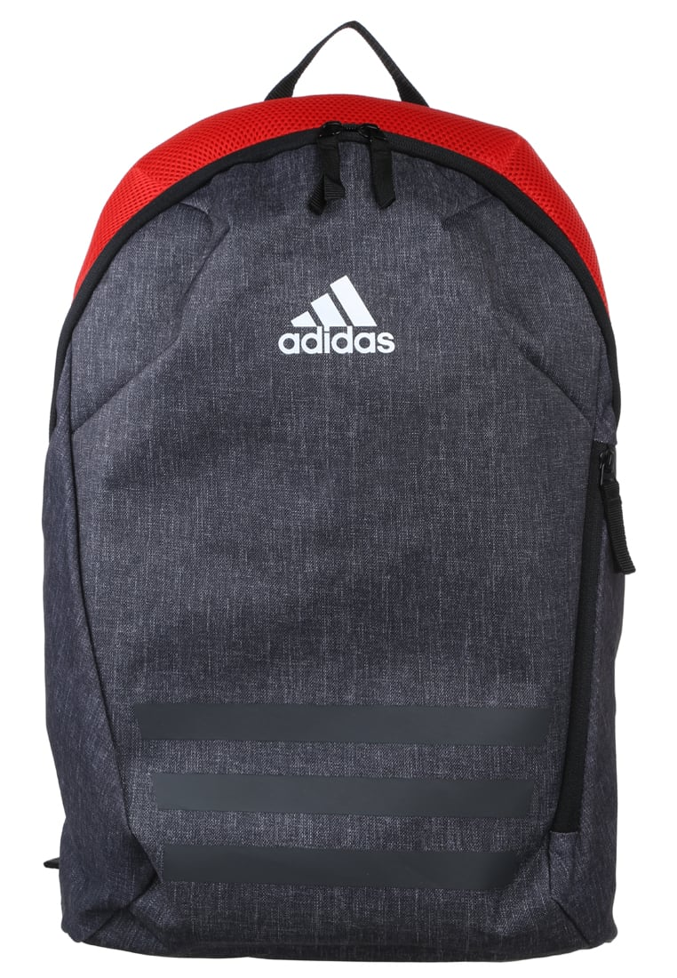 adidas Performance ACE Plecak dark grey heather/red/white - BVG45