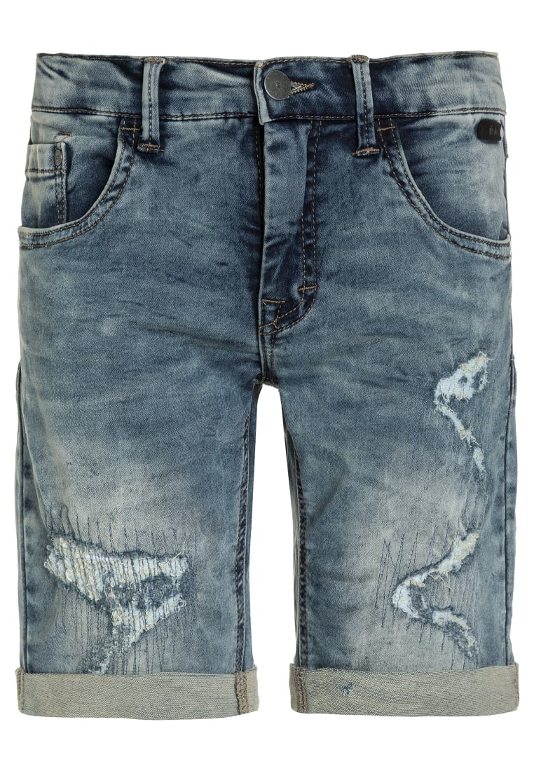 limited by name it NITASHER Szorty jeansowe medium blue denim - 13142020
