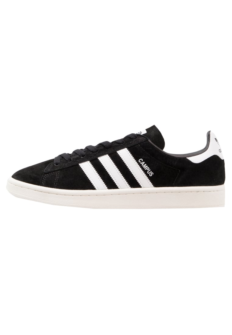 adidas Originals CAMPUS Tenisówki i Trampki core black/footwear white/chalk white - BEF02