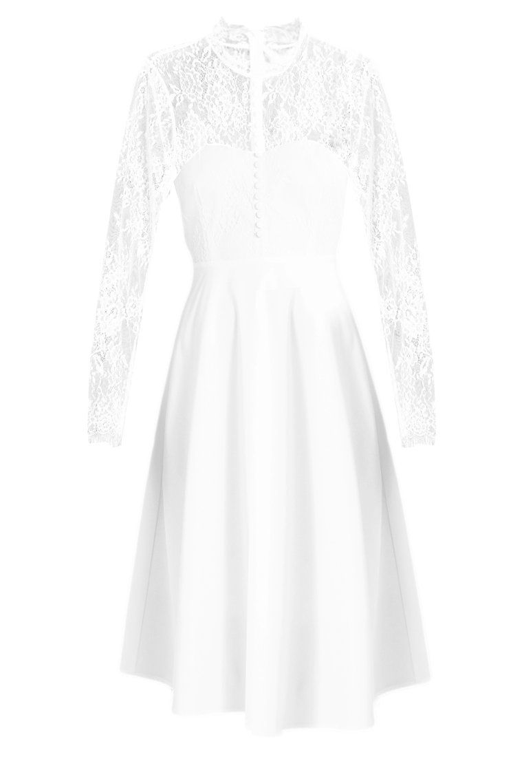 YAS BRIDAL YASPRETTY DRESS Sukienka koktajlowa white - 26006382