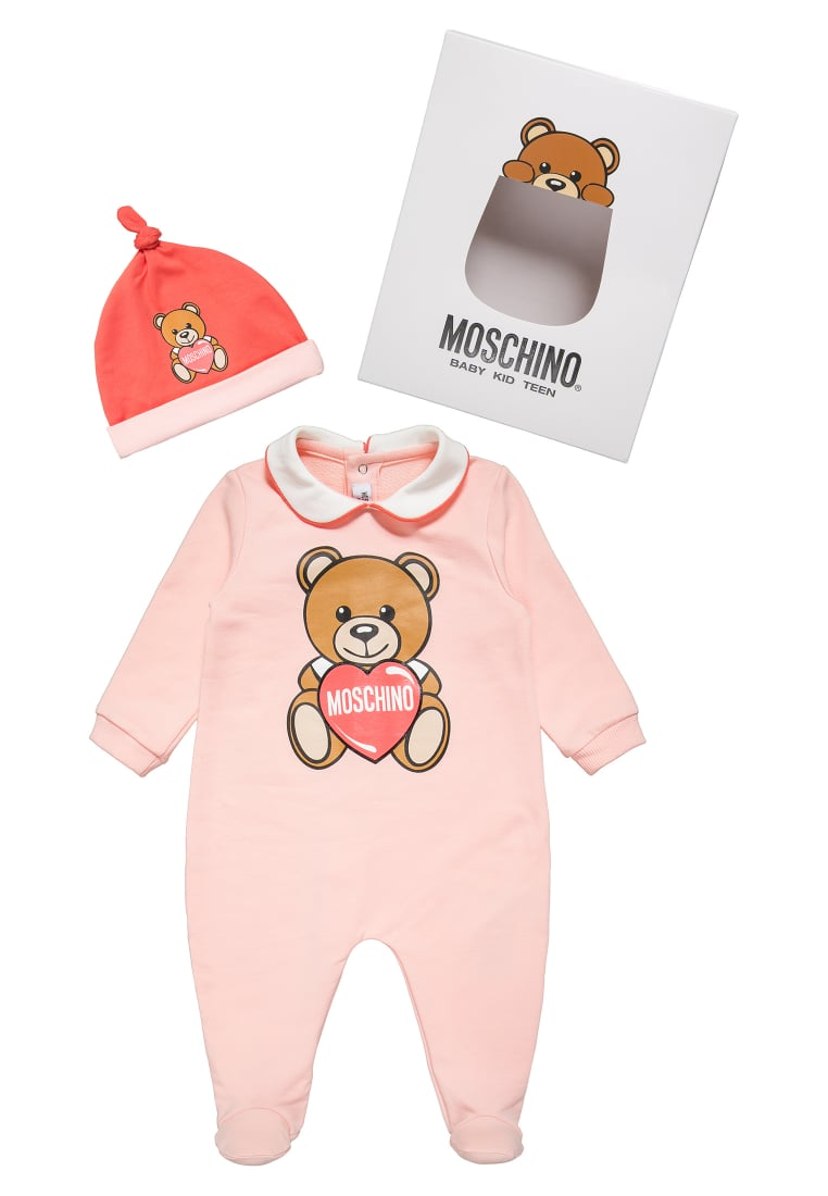 MOSCHINO SET Czapka rose bloom - MUY00L-LDA00