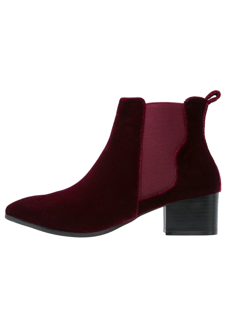 Missguided Ankle boot burgundy - WZF1604008