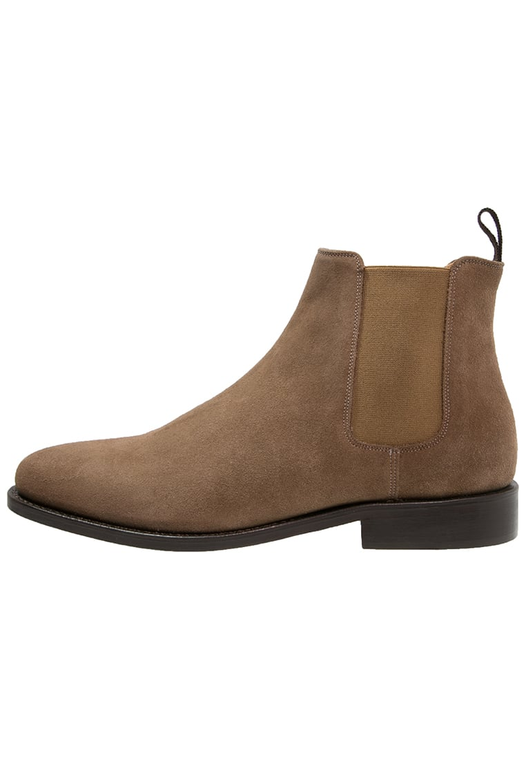 Peralston Botki taupe - PE-CB-02 CHELSEA BOOT Suede Leather