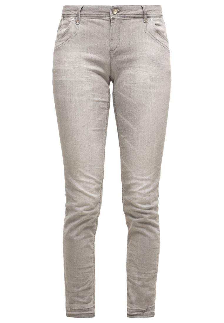 Betty & Co Jeansy Slim fit light gey - 3101-9424