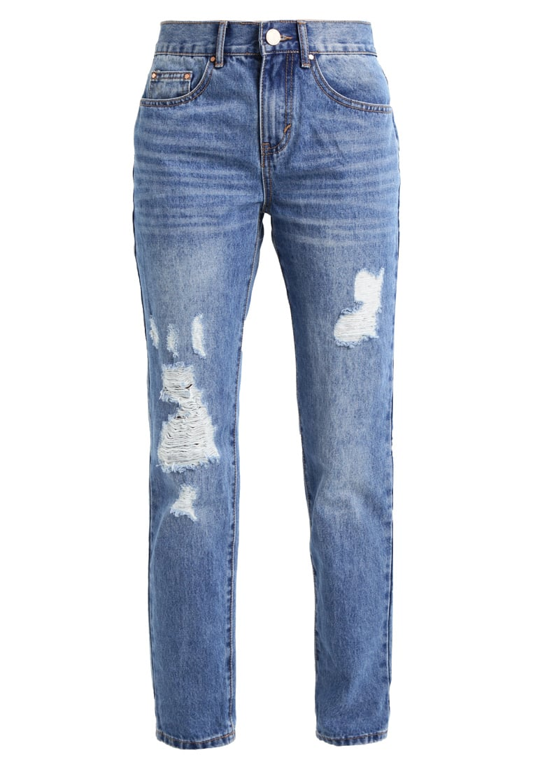 Lost Ink PEPPERMINT  Jeansy Straight Leg light denim