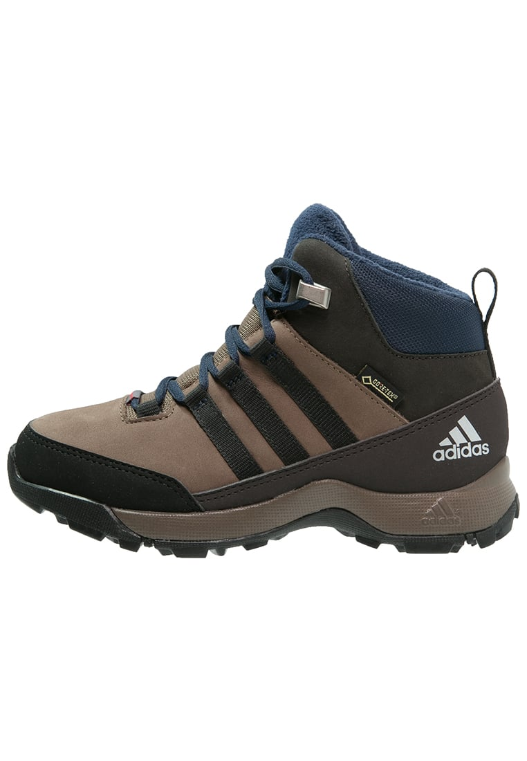 adidas Performance CW WINTER HIKER GTX Śniegowce grey blend/core black/night brown - IKN40