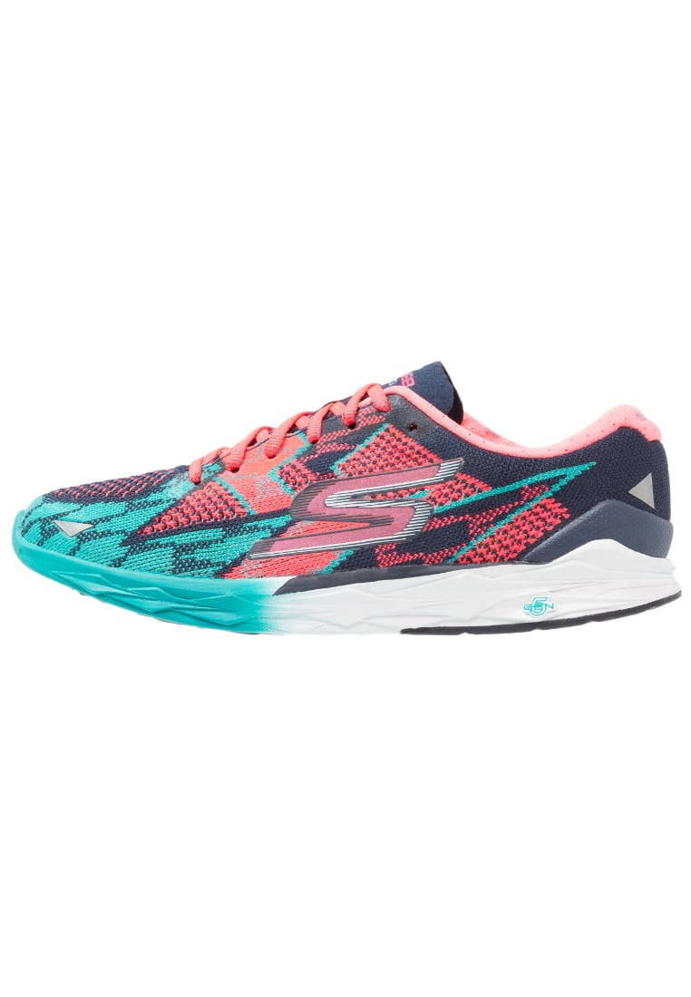 Skechers Performance GO MEB SPEED 4 Buty do biegania treningowe navy/hot pink - 14101