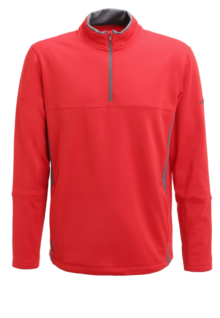 Nike Golf Bluza z polaru university red/dark grey - 686085