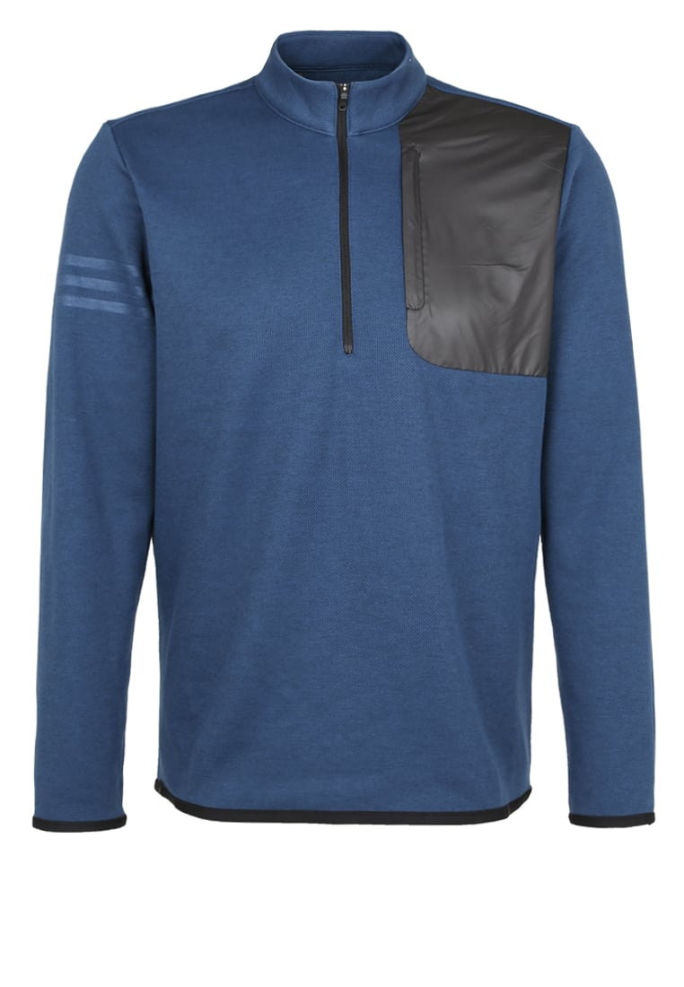 adidas Golf Bluza z polaru mineral blu heather - AE4732