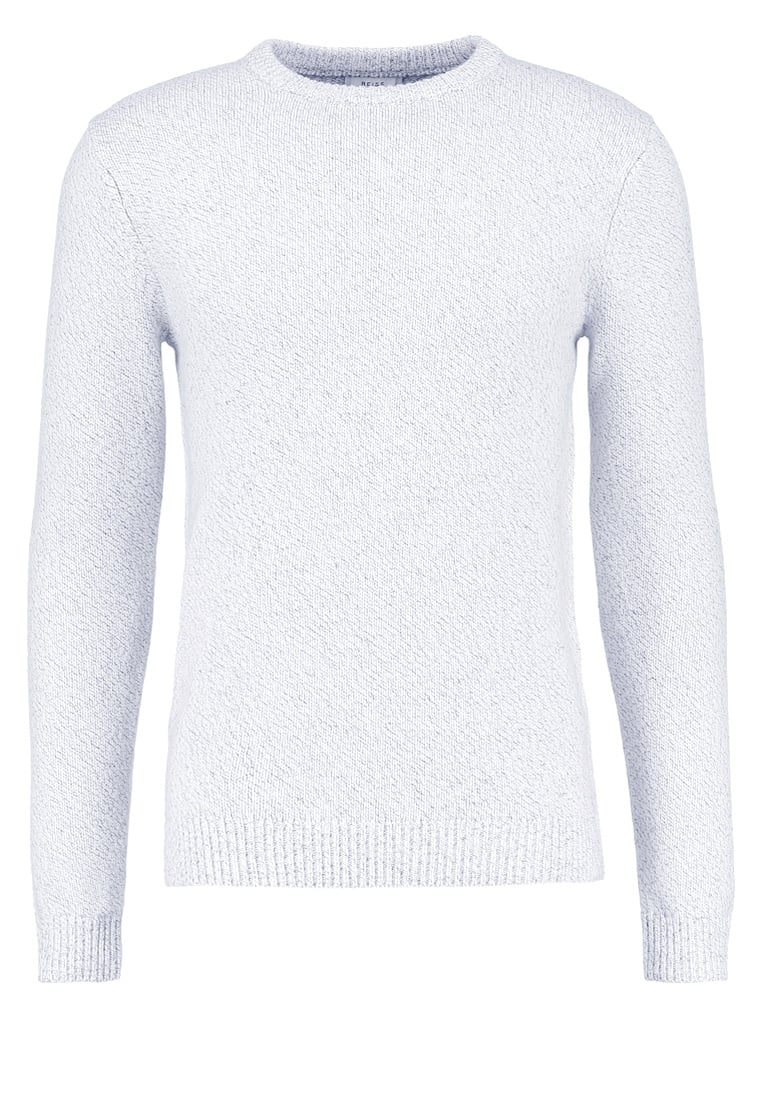 Reiss ANDREW Sweter soft grey - TWISTED YARN CREW