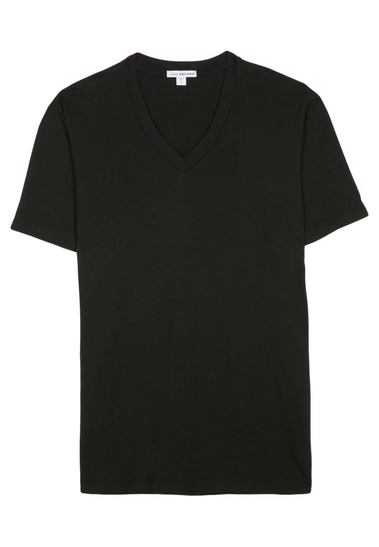 James Perse Tshirt basic black - MLJ3352