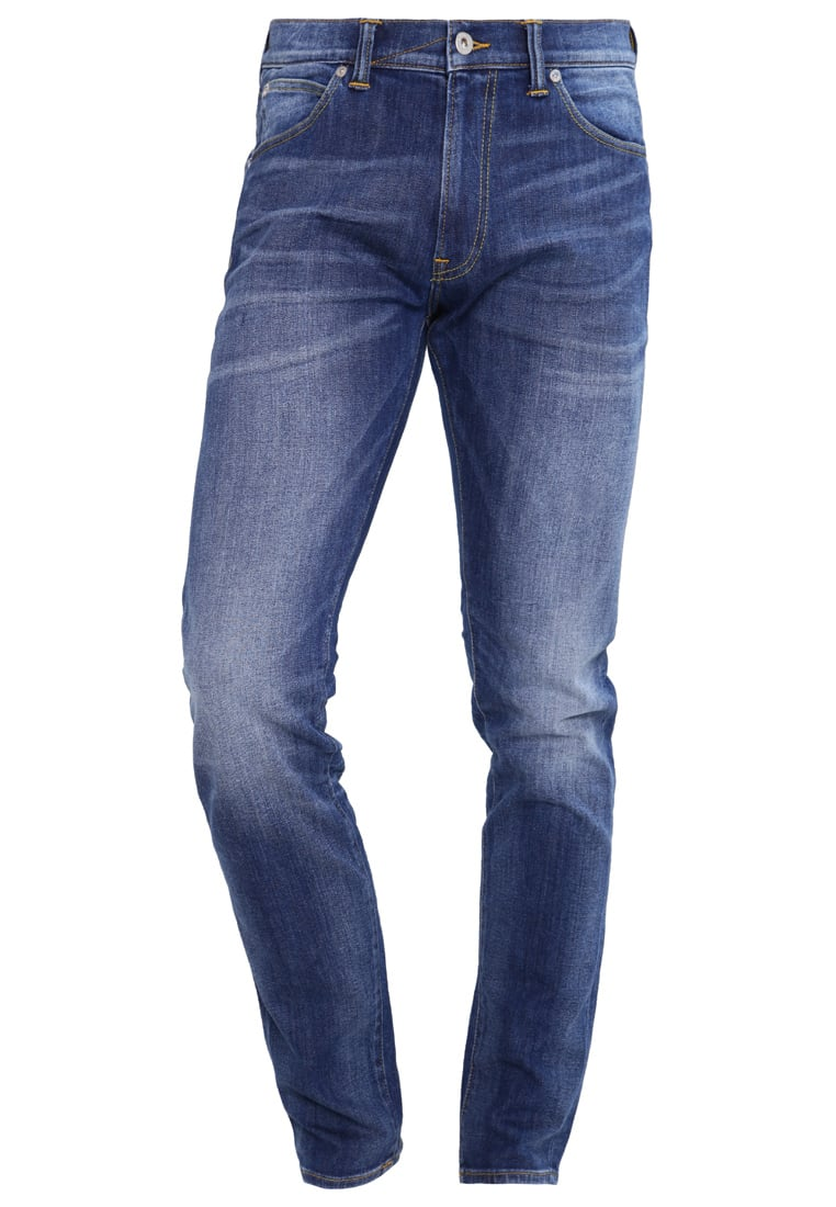 Edwin ED85 Jeansy Slim fit red listed selvage denim - I022505