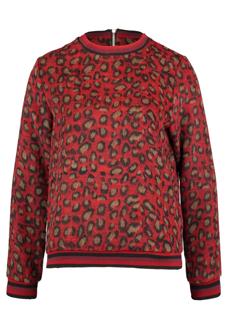Sofie Schnoor LEO KNIT PULLOVER Sweter red - S174231
