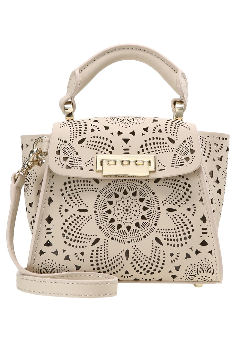 ZAC Zac Posen EARTHA ICONIC MINI TOP HANDLE FLORAL PERFORATION Torebka sand dollar - ZP2007
