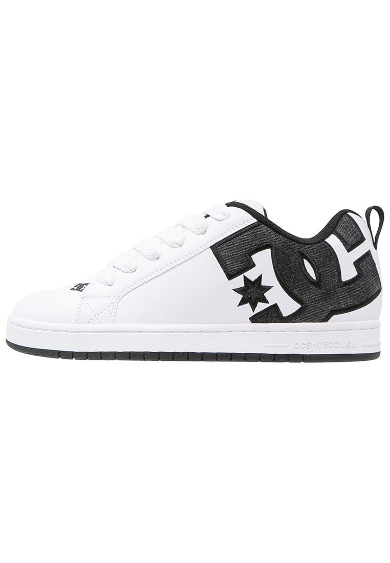 DC Shoes COURT Buty skejtowe white/grey/black - 300927