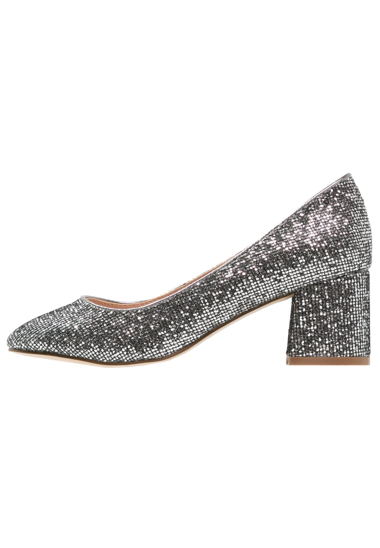 Head over Heels by Dune AGNITHA Czółenka pewter - 0163507980003312
