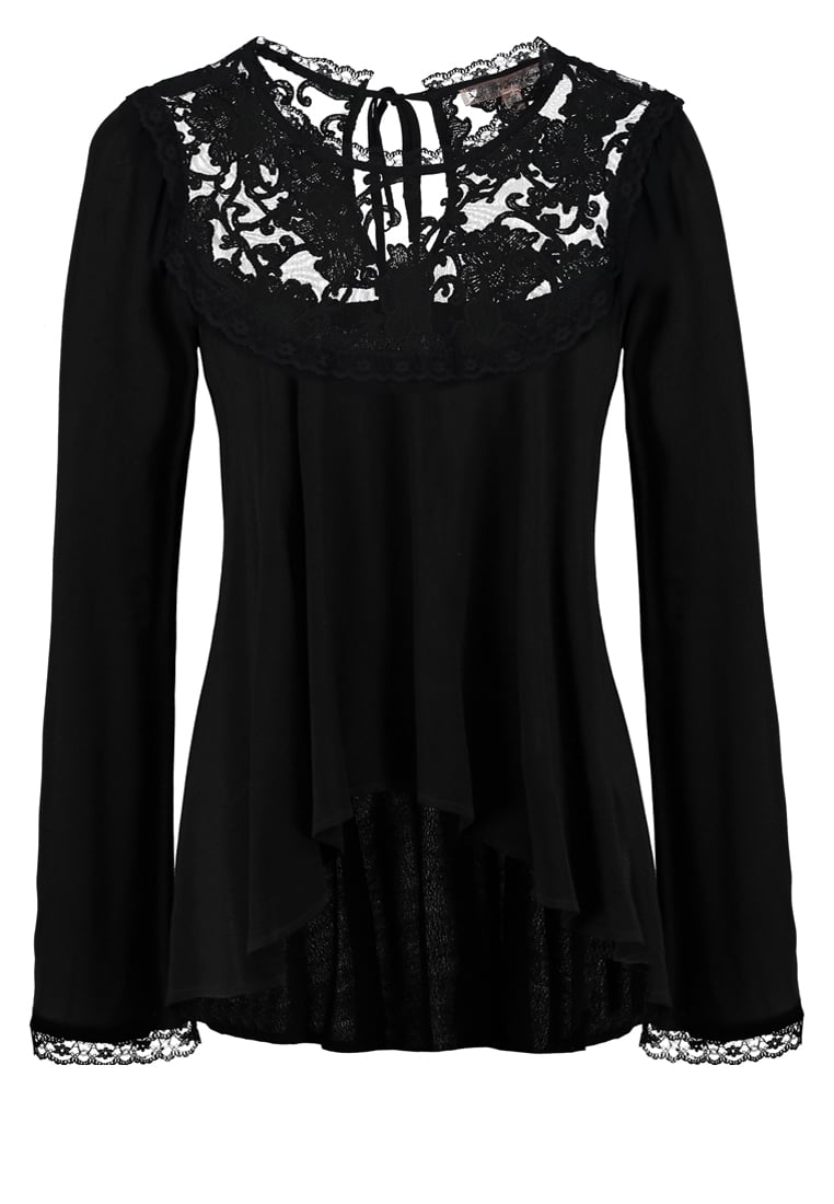 For Love & Lemons ELLERLY Bluzka black - CT1284R-FA16