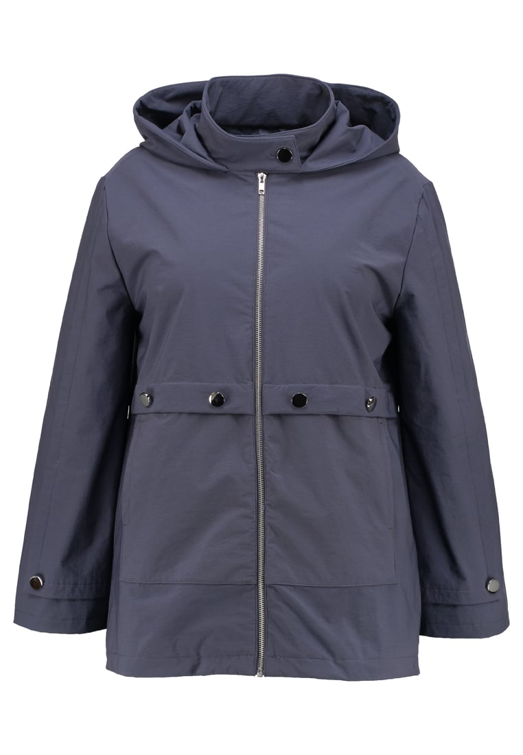 Lost Ink Plus DOUBLE SLEEVE Parka grey - 060312006009