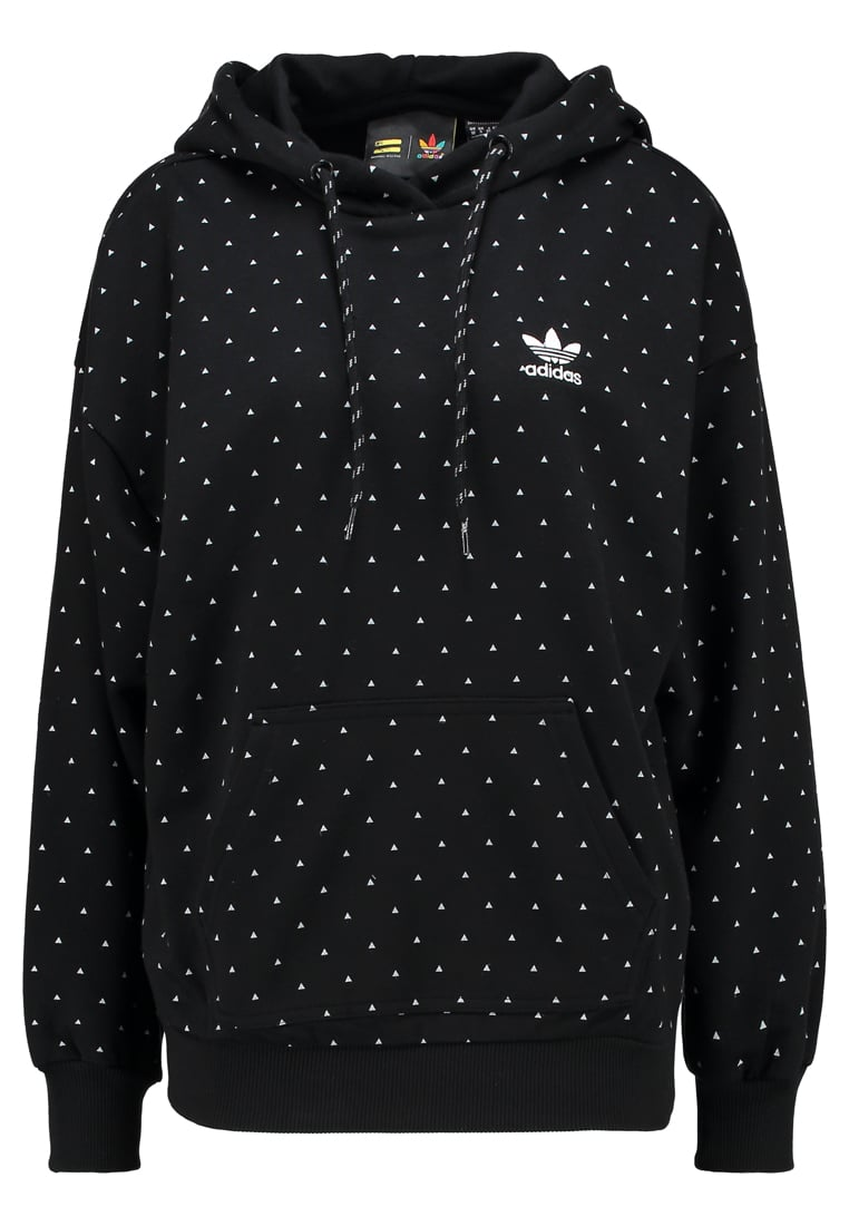adidas Originals HIKING Bluza z kapturem black - FAE15