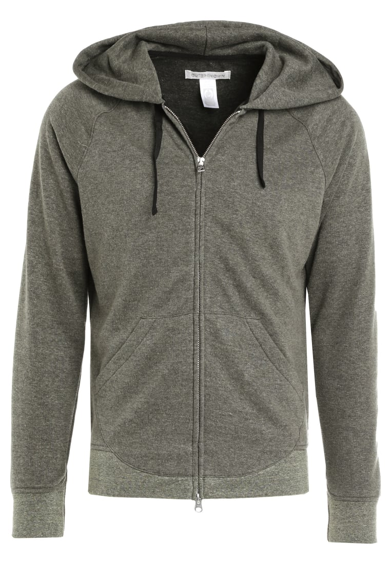 Outerknown CARRIE ON HOODIE Bluza rozpinana olive - 1250018
