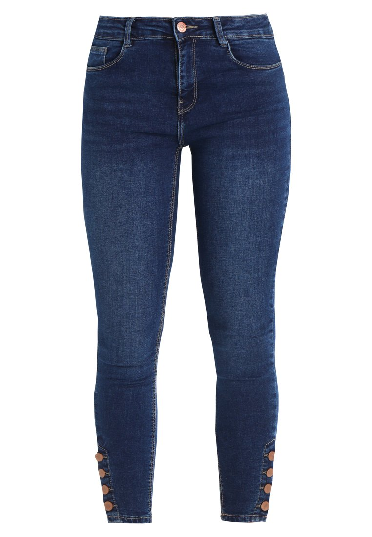 New Look ANKLE GRAZER Jeans Skinny Fit mid blue - 5513406