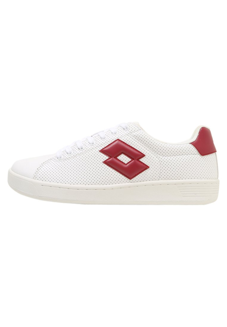 Lotto 1973 VII MICRO Buty multicourt white/red - T3907