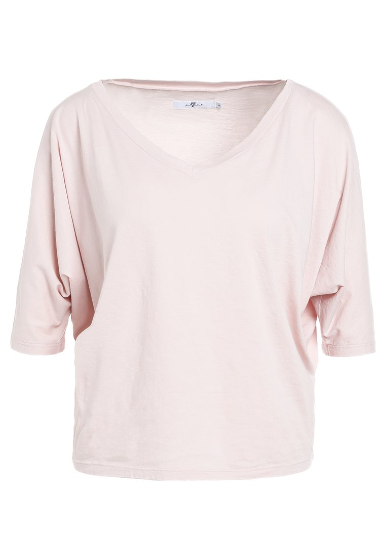 7 for all mankind CROPPED Tshirt basic pale pink - JS5L9230
