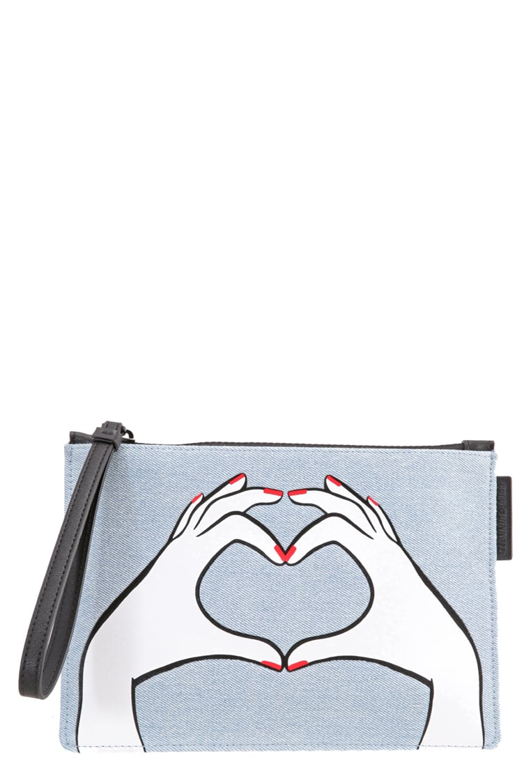 Lulu Guinness HEART HANDS Kopertówka denim - 50128365