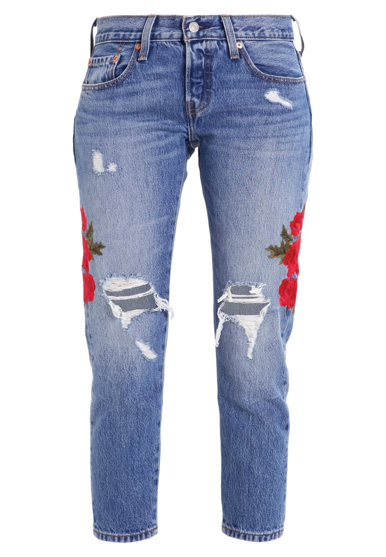 Levi's® 501 CROPPED TAPER Jeansy Slim fit custom blues - 36190