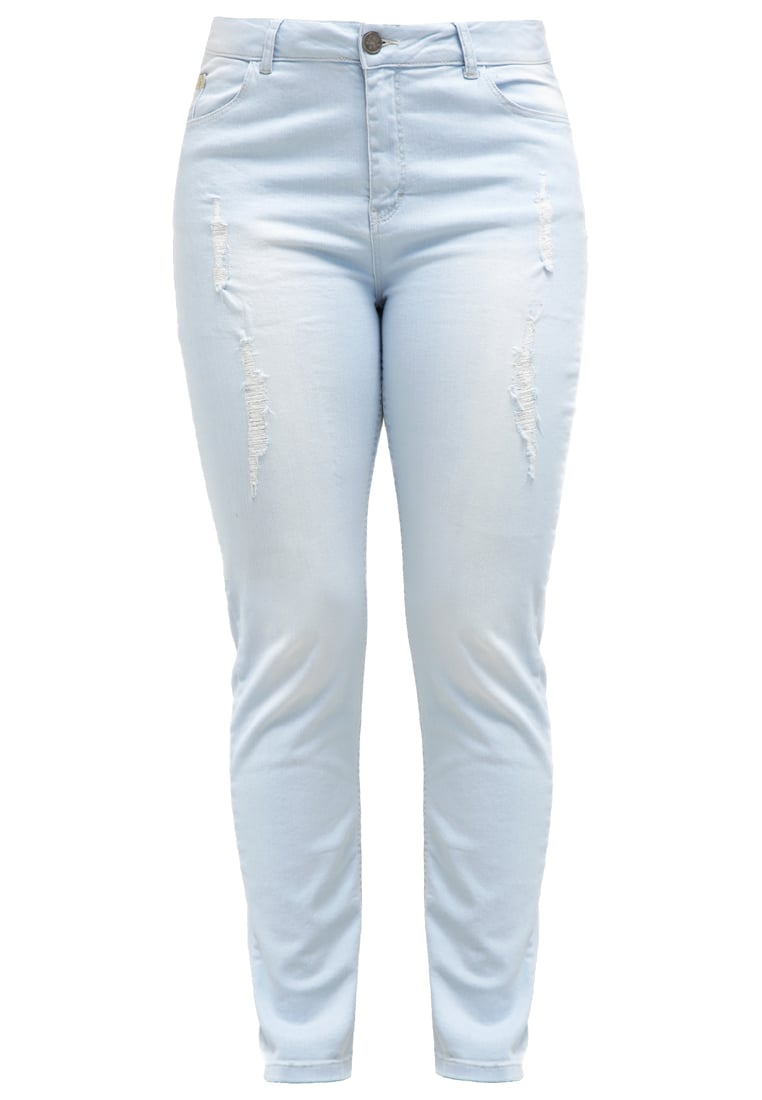 ADIA Jeansy Relaxed fit snow blue