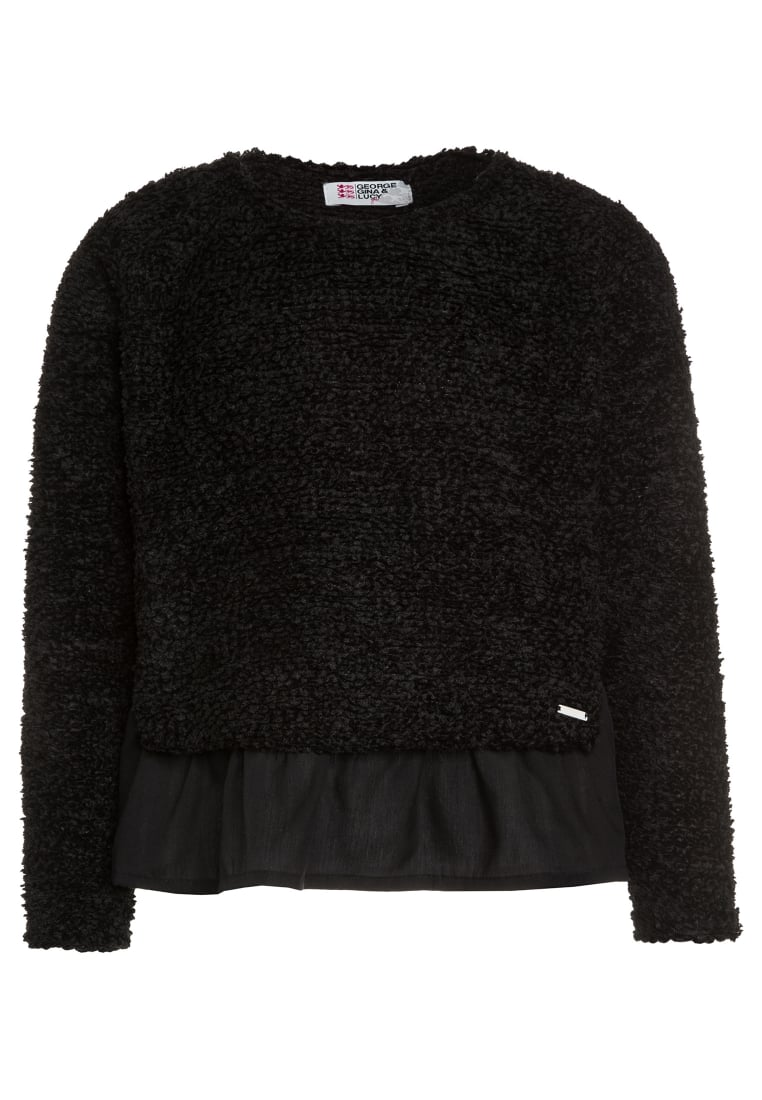 GEORGE GINA & LUCY girls MILANO Sweter super black - 50435