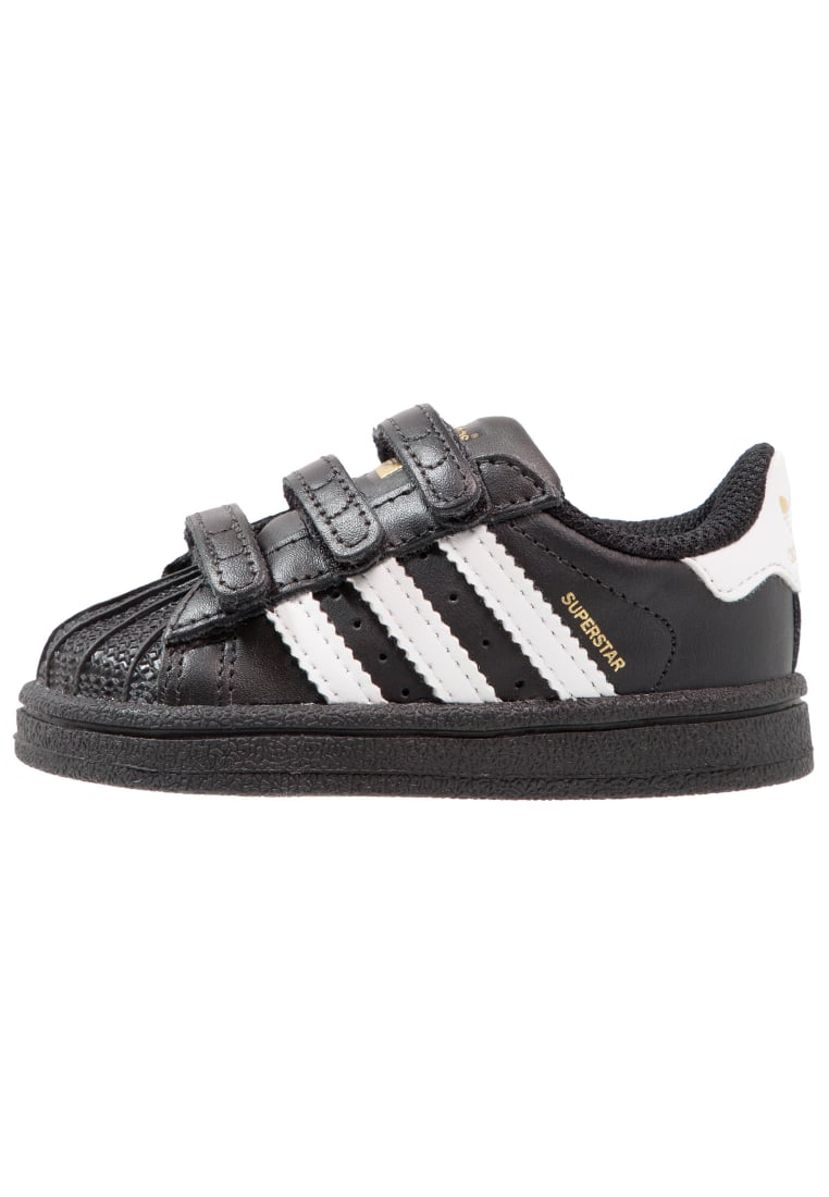 adidas Originals SUPERSTAR CF Buty do nauki chodzenia core black/footwear white - BEG01
