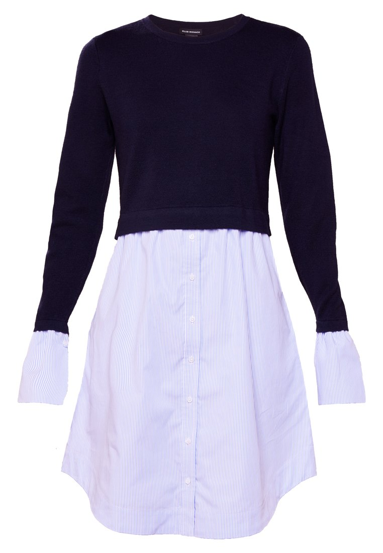 Club Monaco MARICEL DRESS Sukienka letnia sailor navy