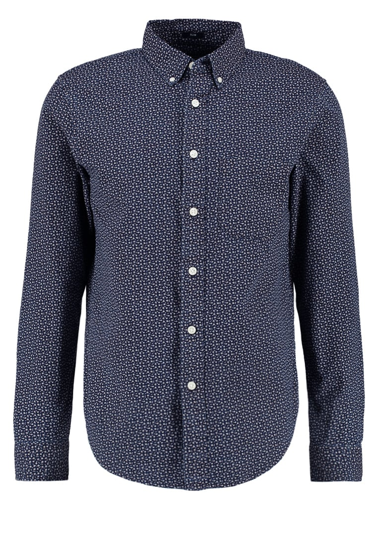 Abercrombie & Fitch SLIM FIT Koszula navy - KI125-6506