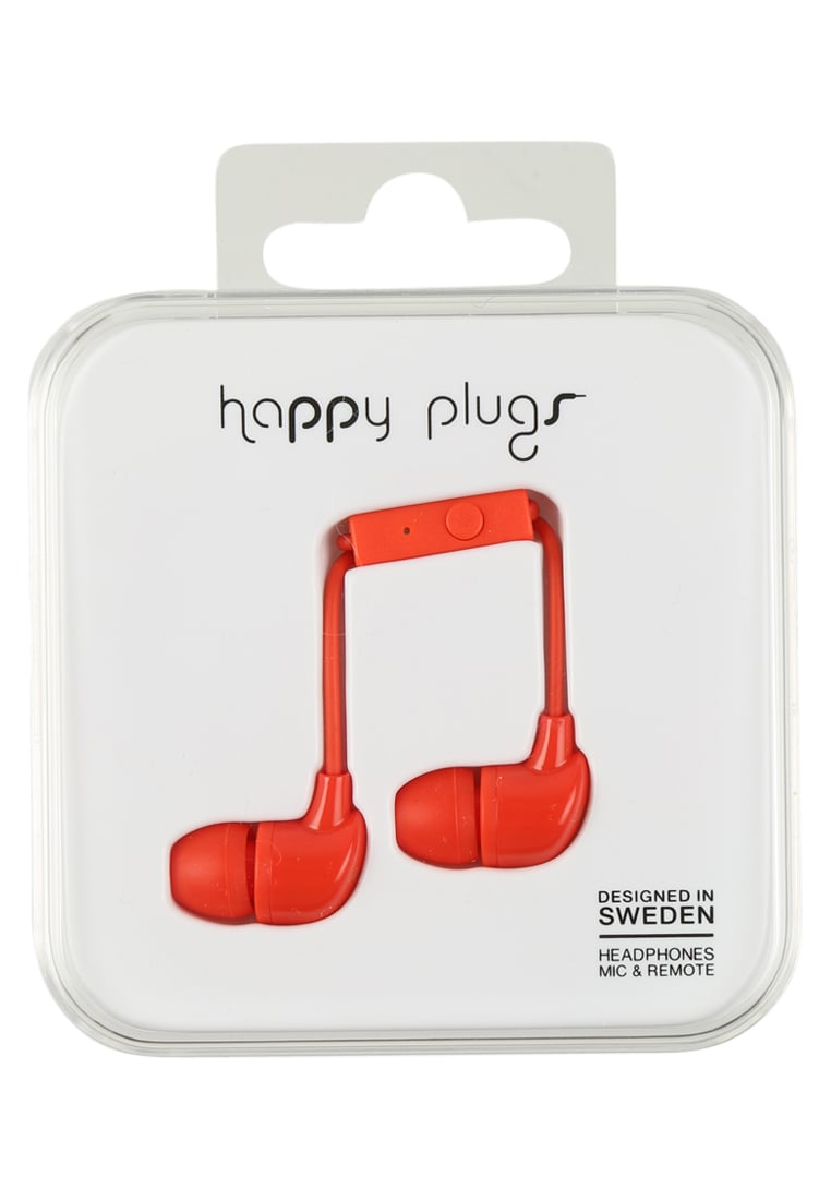 Happy Plugs Słuchawki red - Happy Plugs In-Ear