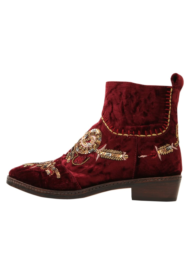 Coral Blue TEXAN BOOT Botki bordeaux - CB.K317.14