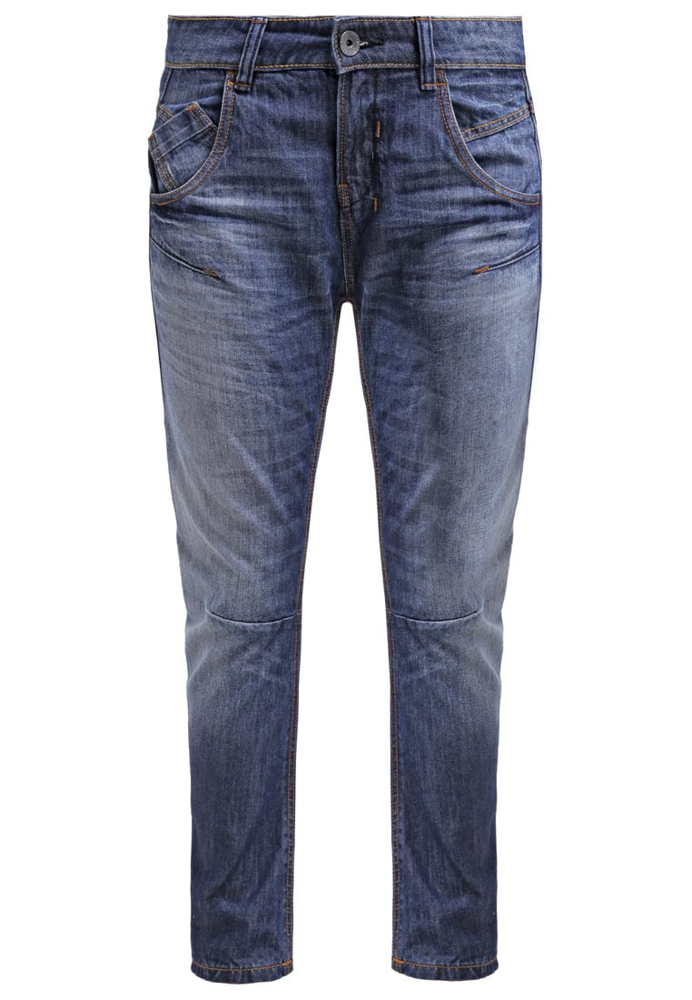 Benetton Jeansy Relaxed fit denim blue washed - 4PV2571N5