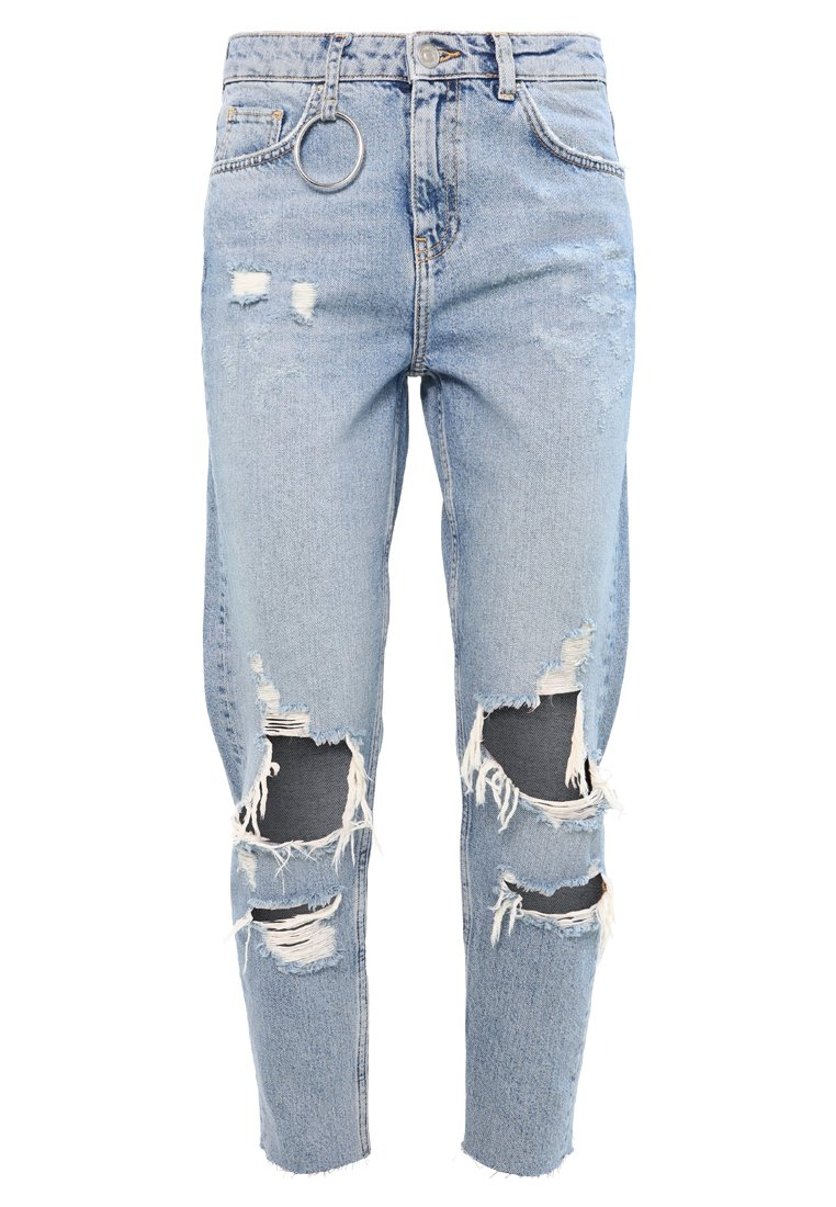Bik Bok B&&B ANGIE Jeansy Relaxed Fit blue denim - 7206940