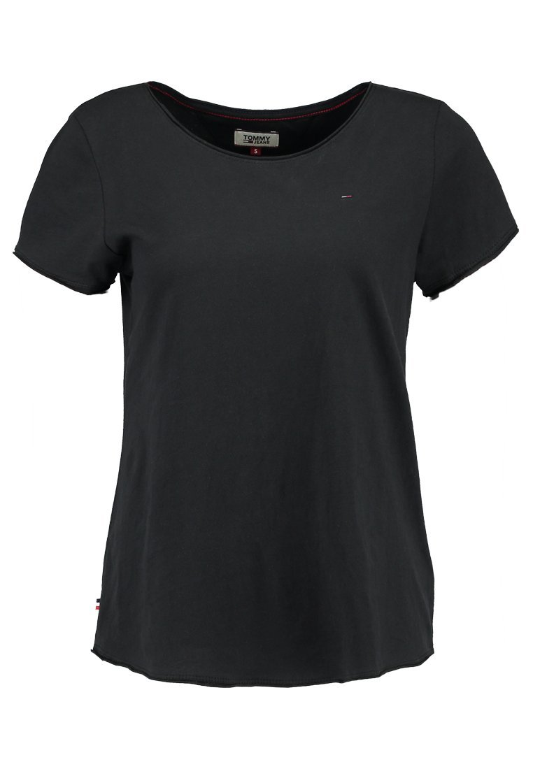 Tommy Jeans SOFT TEE Tshirt basic tommy black