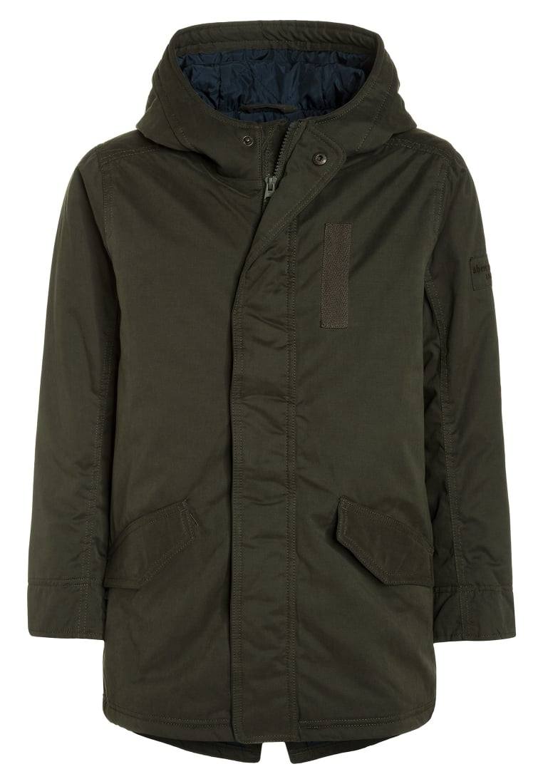 Abercrombie & Fitch FASHION Parka olive - KI232-7400-429785