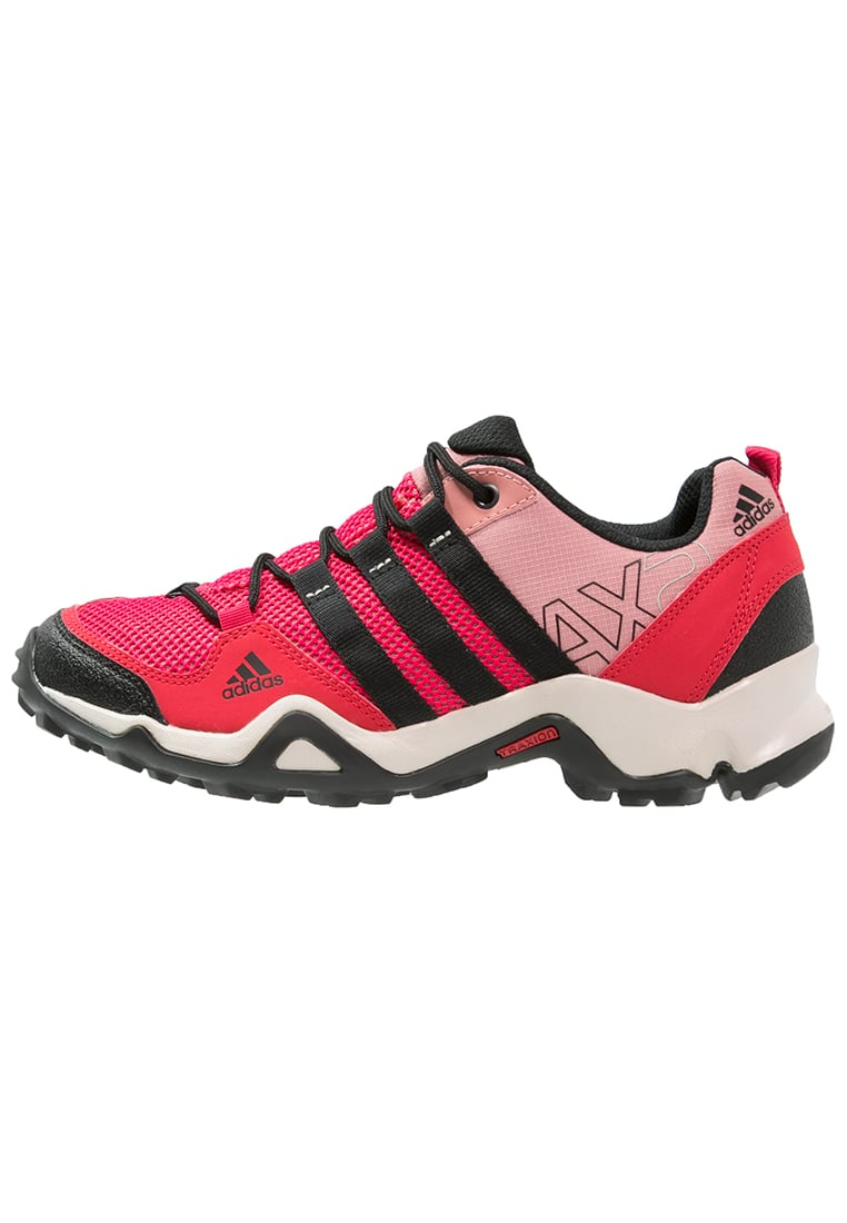 adidas Performance AX2 Półbuty trekkingowe ray red/core black/raw pink - EO879