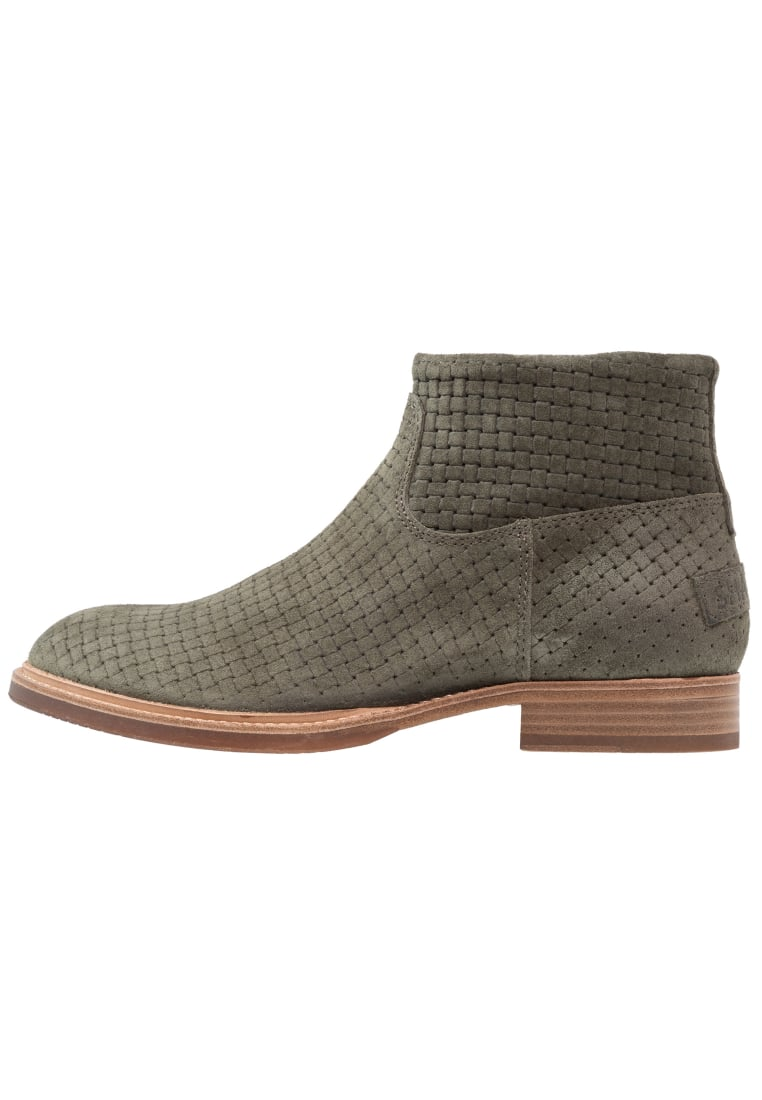 Shabbies Amsterdam Ankle boot oliv - 181020012