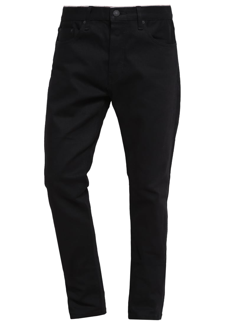 Earnest Sewn BRYANT SLOUCHY Jeansy Slim fit raw black - 1V110152