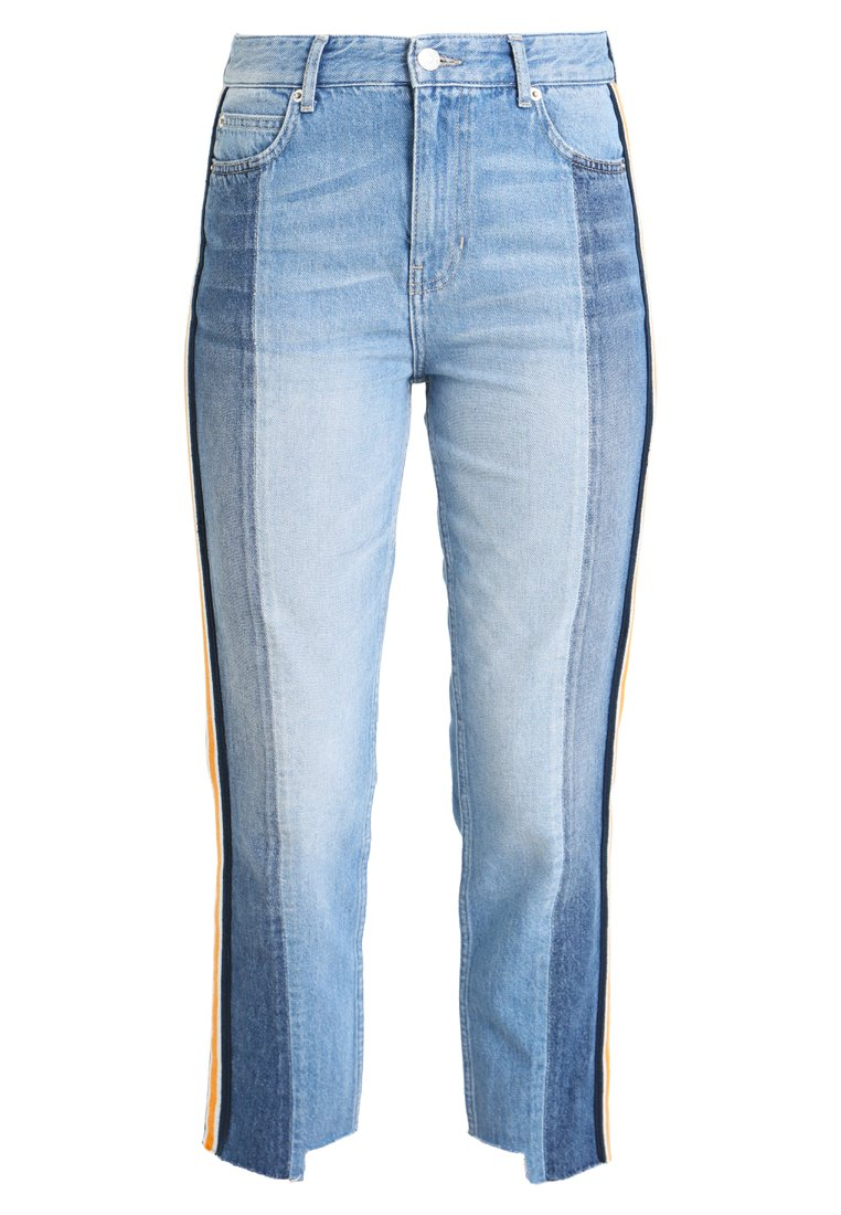 NORR AVEN Jeansy Straight Leg blue - 11850002