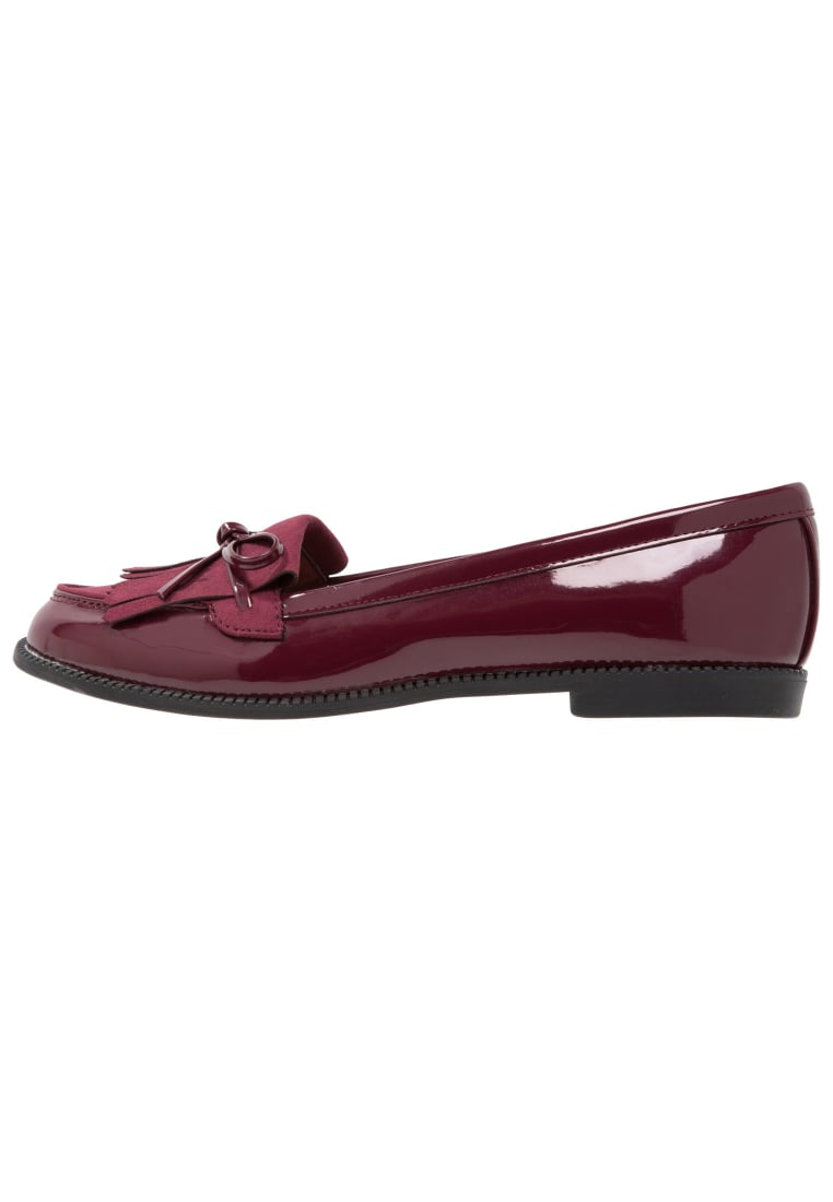 Dorothy Perkins Wide Fit LEAP Półbuty wsuwane red - 35263671